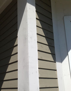 Poorly Filled Nail Holes · Biscuit Jointed Pine For Exterior Trim Part 58