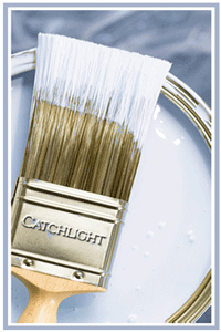 catchlight painting branded paint brush