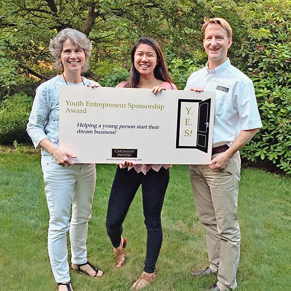 2016 Y.E.S! award winner with Deborah & Nigel Costolloe