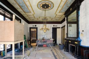 163 Marlborough Street in Boston MA Interior Progress