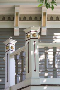 Beautifully detailed railing