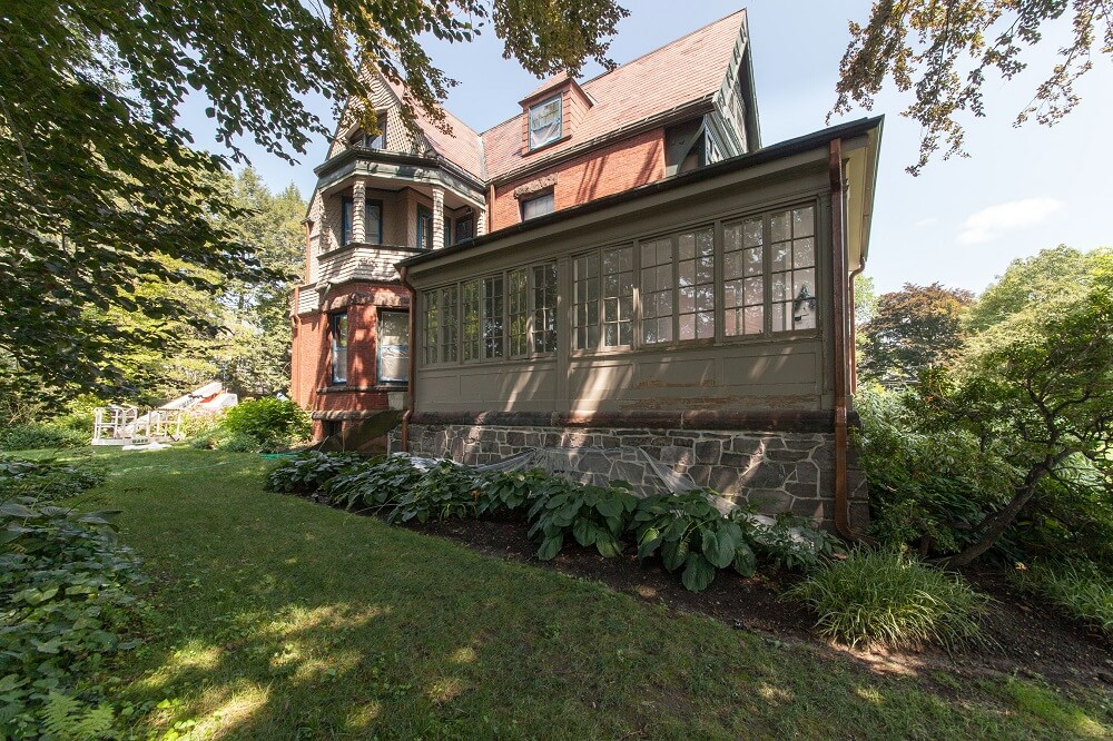 Historic Home Painting in Newton Highlands